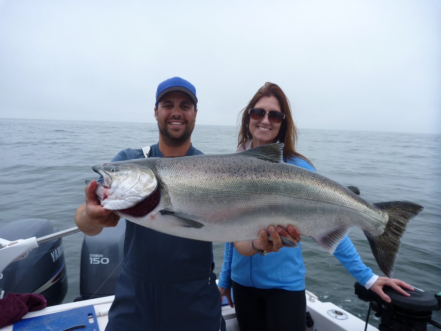 Photo galleries campbell river guided salmon fishing for Campbell river fishing