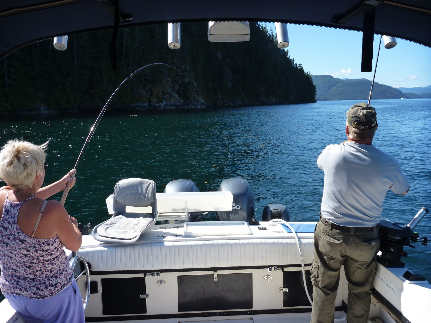 salmon fishing guides campbell river