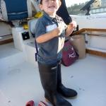 Ocean fishing for salmon
