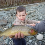 Campbell RIver trout fishing