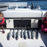 KIds fishing in Campbell River