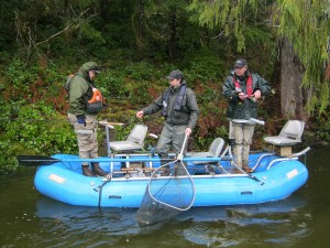 Vancouver Island freshwater fishing for Salmon & Steelhead