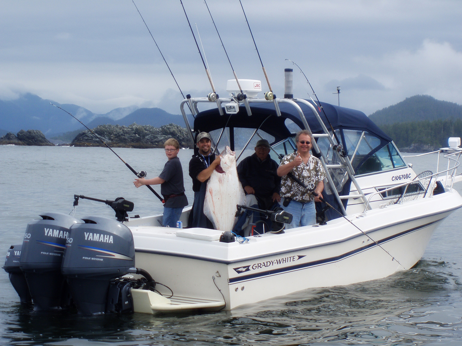 Campbell river gold river guided charter fishing boats for Campbell river fishing