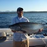 Guided Salmon Fishing