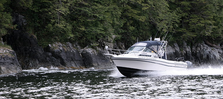 Campbell River Salmon fishing charter boats