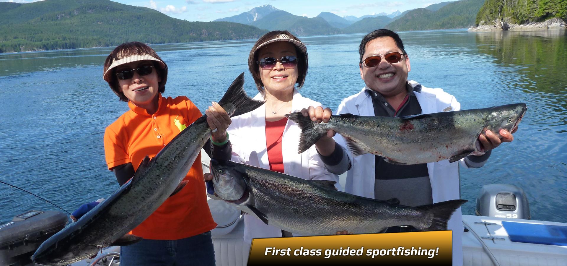 profish first class salmon fishing