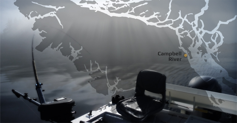 Salmon Fishing charters out of Campbell River, BC