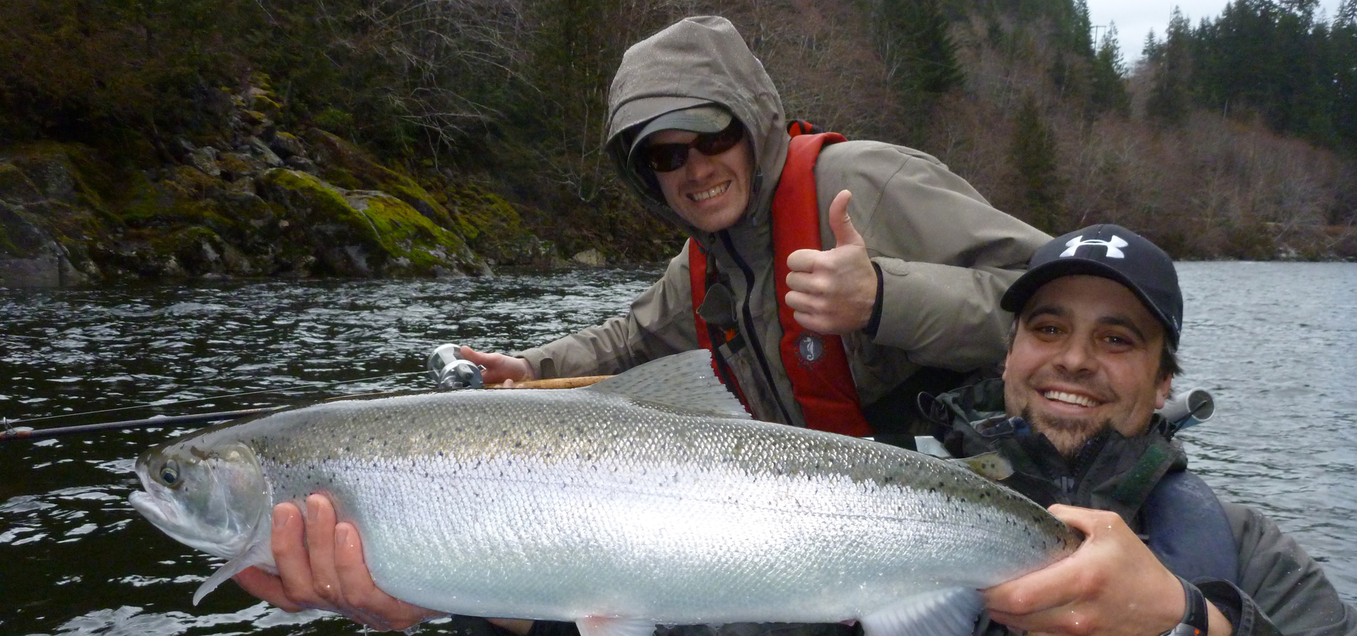 Steelhead fishing on Gold River